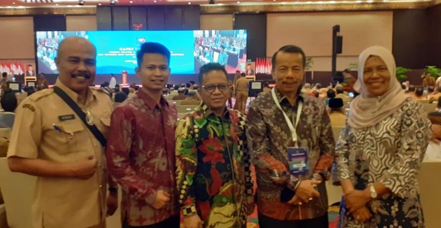 Sekda ikuti Rakor Bidang Politik dan Pemerintahan Umum  mendukung sukses Pilkada Serentak 2020